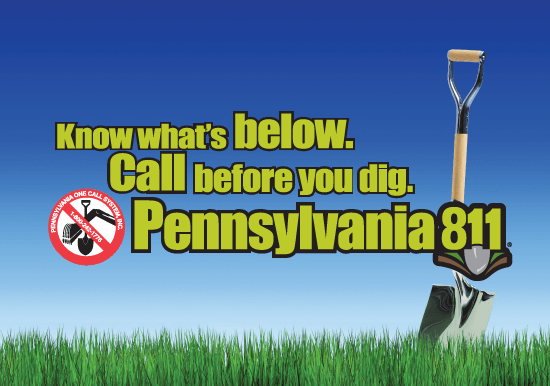 PA 811 Call Before You Dig